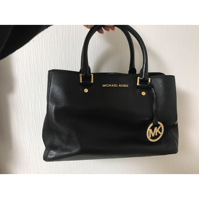 Michael Kors(マイケルコース)のMichael Kors ハンドバッグ 黒  レディースのバッグ(ハンドバッグ)の商品写真