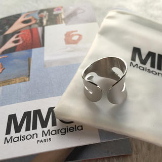 マルタンマルジェラ(Maison Martin Margiela)のhiNako♡様 新品【MM⑥】シルバーリング(リング(指輪))