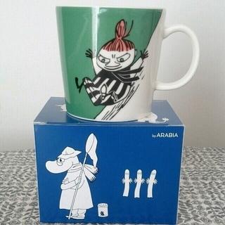 アラビア(ARABIA)のアラビア ムーミン マグカップ リトルミィ ムーミンマグ(グラス/カップ)
