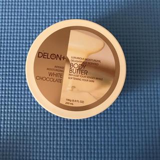 ザボディショップ(THE BODY SHOP)のデロン ボディバター ホワイトチョコレート(ボディクリーム)