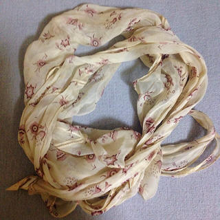 マルニ(Marni)のMarni 花柄シルクスカーフ(バンダナ/スカーフ)