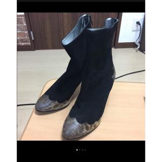 ジルスチュアート(JILLSTUART)のジルスチュアート 新品 ブーツ37 mahalo13様専用(ブーツ)