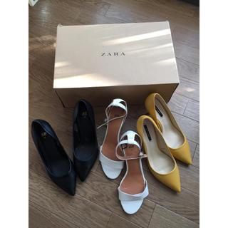 ザラ(ZARA)のみかさん専用++総額1.2万/パンプス福袋+ZARA/H&M++(ハイヒール/パンプス)