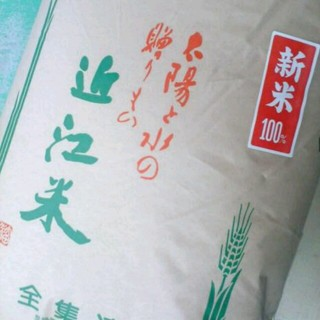 ミルキー様専用28年度新米ブレンド白米27キロ 食品/飲料/酒の食品(米/穀物)の商品写真