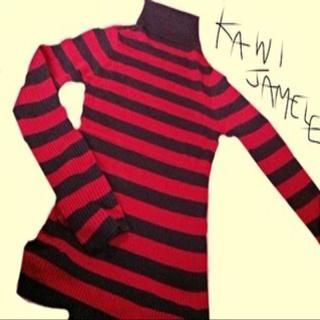 カウイジャミール(KAWI JAMELE)のKAWI JAMELE タートルニット(ニット/セーター)