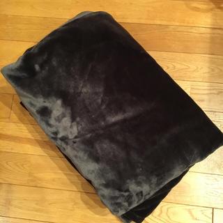 コストコ(コストコ)のコストコブランケットダークブラウン200×130(毛布)