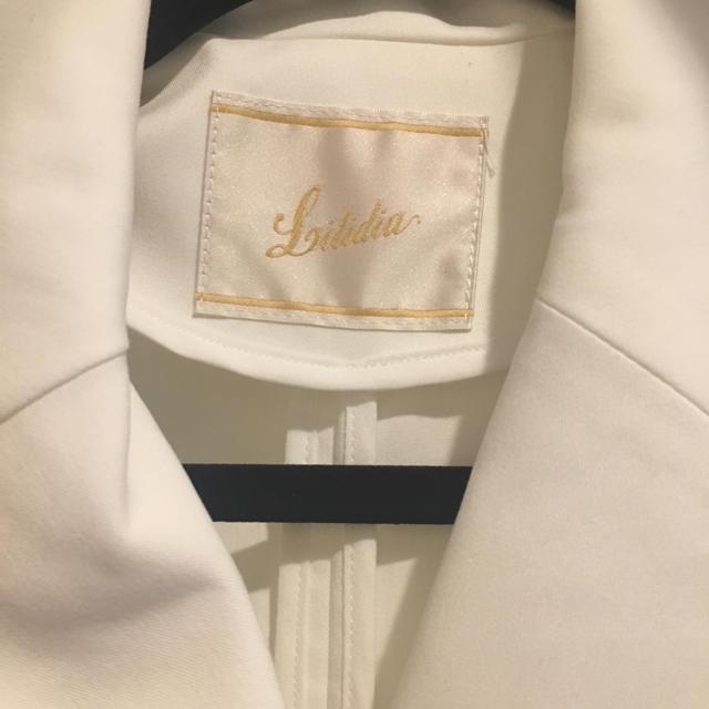 Lilidia(リリディア)のリリディア トレンチコート ホワイト レディースのジャケット/アウター(トレンチコート)の商品写真