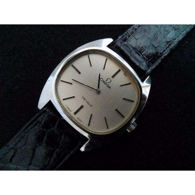 OMEGA(オメガ)のOMEGA De Ville メンズ シルバー 手巻き メンズの時計(腕時計(アナログ))の商品写真