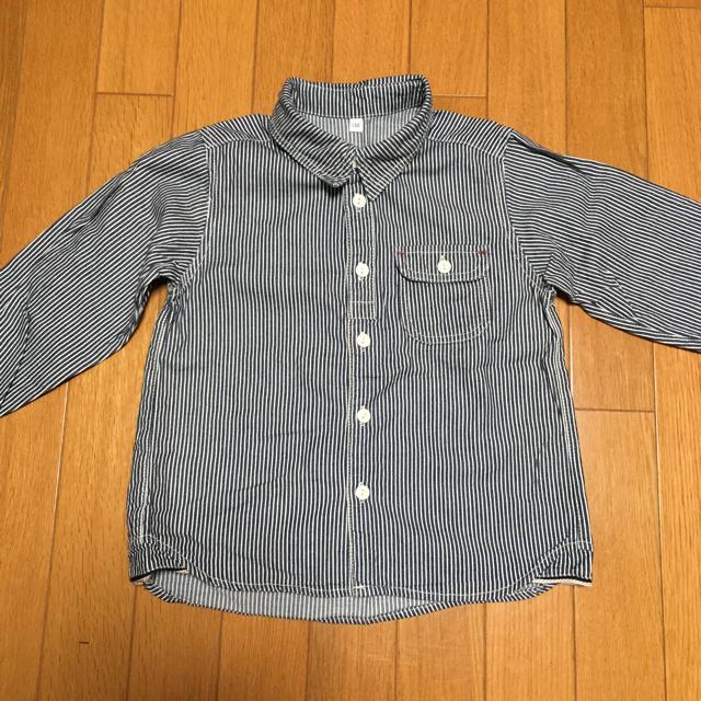 MUJI (無印良品)(ムジルシリョウヒン)の無印良品 ストライプシャツ
