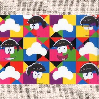 A4クリアファイル② 「おそ松さん×アトレ秋葉原~春のおそまつりグッズ」 エンタメ/ホビーのアニメグッズ(クリアファイル)の商品写真