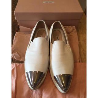 ミュウミュウ(miumiu)のミュウミュウ靴 39.5(スニーカー)