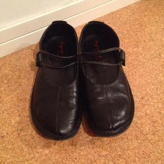 アニエスベー(agnes b.)のアニエス ストラップシューズ(ローファー/革靴)