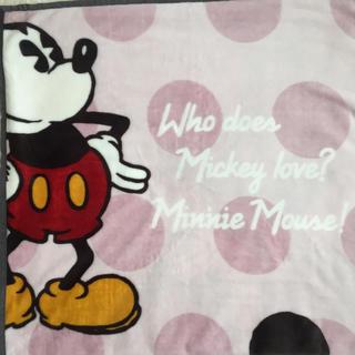 フランフラン(Francfranc)のFRANCFRANC ミッキー&ミニー ミニ毛布(毛布)