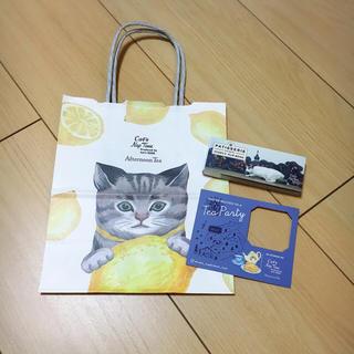アフタヌーンティー(AfternoonTea)のアフタヌーンティー 非売品 ショップ袋 cat's issue コラボ(ショップ袋)