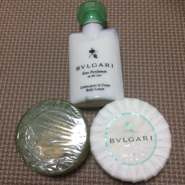 BVLGARI(ブルガリ)のブルガリ ソープ&ボディーミルクセット コスメ/美容のボディケア(ボディソープ / 石鹸)の商品写真