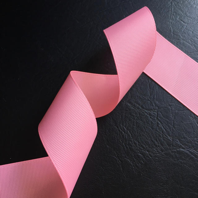 グログランリボン 38mm 5m ピンク ハンドメイドの素材/材料(その他)の商品写真