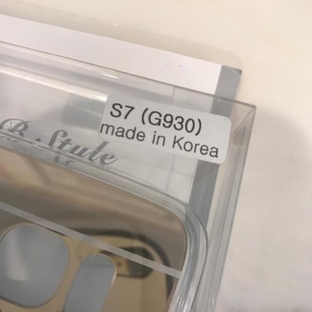 新品!GALAXY S7  ケース ハンドメイドのスマホケース/アクセサリー(スマホケース)の商品写真