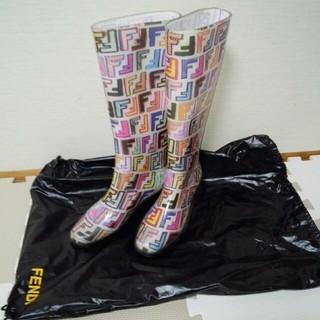 フェンディ(FENDI)のフェンディ マルチカラーレインブーツ(レインブーツ/長靴)