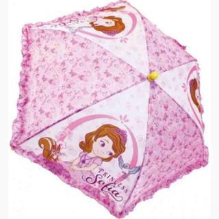 ディズニー(Disney)の新品‼️小さなプリンセス ソフィア 傘(傘)