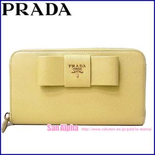 プラダ(PRADA)のプラダ SAFFIANO リボンモチーフ 長財布(財布)