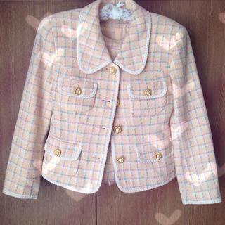 ディアプリンセス(Dear Princess)の♡ツイード格子柄ジャケット&スカート♡(スーツ)