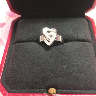 カルティエ(Cartier)のカルティエ 2ハートリング 正規品(リング(指輪))