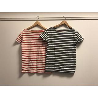 ムジルシリョウヒン(MUJI (無印良品))の無印良品 Tシャツ2枚セット(Tシャツ(半袖/袖なし))