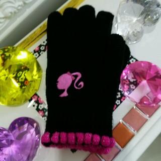 バービー(Barbie)の☆新品未使用❤バービー❤可愛い手袋です❗(手袋)