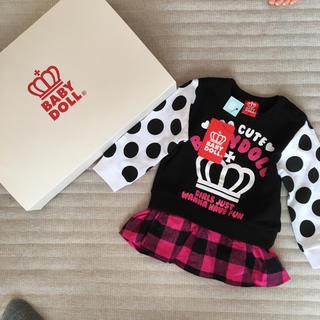 ベビードール(BABYDOLL)のBABYDOLL☆新品 80(Tシャツ)