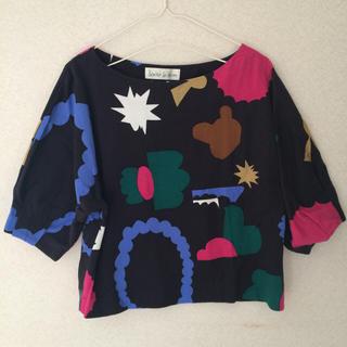 アトリエドゥサボン(l'atelier du savon)のアニマルコレクションプルオーバー(Tシャツ(長袖/七分))