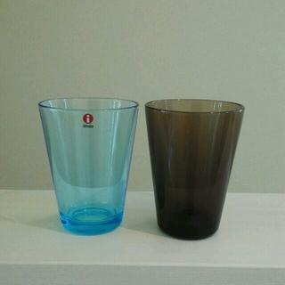 イッタラ(iittala)の中古美品2個セット iittala カルティオ ハイボール 400(食器)