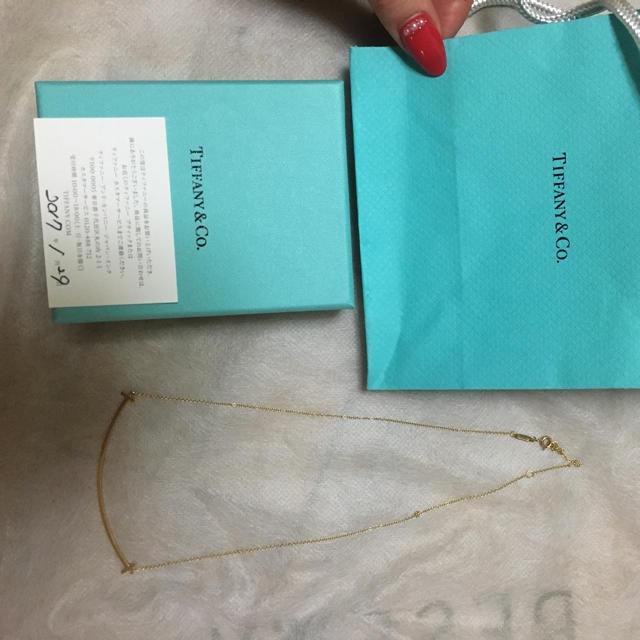 Tiffany & Co.(ティファニー)のティファニー ネックレス ゴールド 18K レディースのアクセサリー(ネックレス)の商品写真