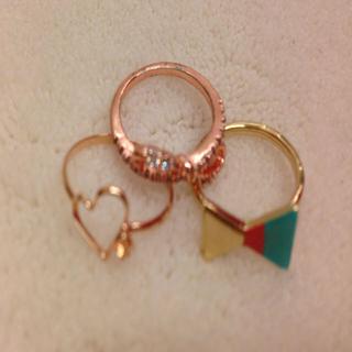 ハートとリボンの指輪(リング(指輪))