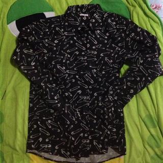 ジーユー(GU)のネルシャツ(Tシャツ(長袖/七分))