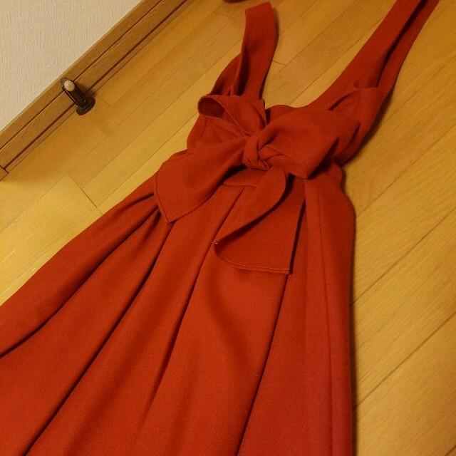 anatelier(アナトリエ)のAnatelier アナトリエ リボンワンピース ジャンスカ レディースのワンピース(ひざ丈ワンピース)の商品写真