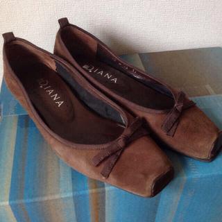 ダイアナ(DIANA)のダイアナ フラットシューズ♡ぺたんこ靴(ハイヒール/パンプス)