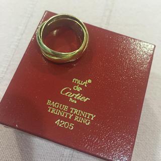 カルティエ(Cartier)のカルティエのトリニティリング 49(リング(指輪))