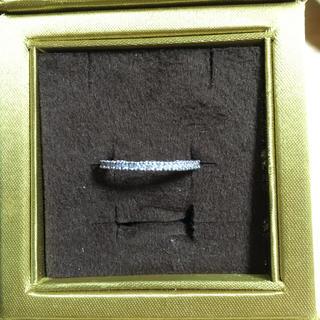 フォリフォリ(Folli Follie)の値下k18ホワイトゴールドダイヤリング(リング(指輪))