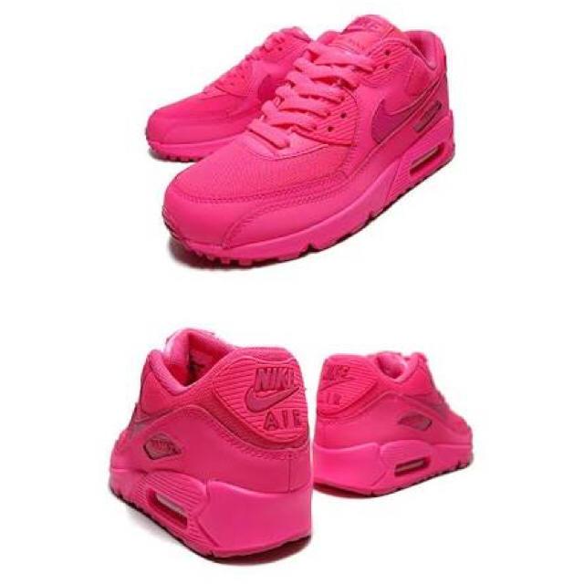 NIKE(ナイキ)のナイキ エアマックス 90 ピンク レディースの靴/シューズ(