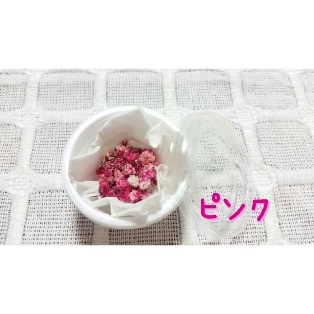 ♡かすみ草♡ドライフラワー♡ピンク【送料無料】 ハンドメイドの素材/材料(その他)の商品写真
