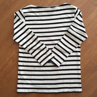 ヤエカ(YAECA)のYAECA バスクシャツ ショート(カットソー(長袖/七分))