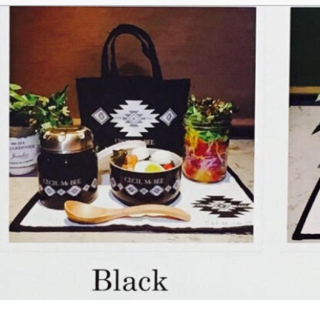 CECIL McBEE(セシルマクビー)の新品 セシル ランチセット インテリア/住まい/日用品のキッチン/食器(弁当用品)の商品写真