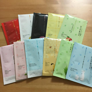 我的美麗日記☆フェイスマスクセット(パック/フェイスマスク)