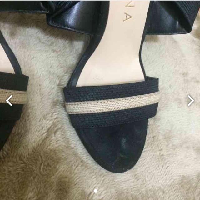 DIANA(ダイアナ)のダイアナ サンダル 美品 ベージュ ブラック 22 レディースの靴/シューズ(サンダル)の商品写真