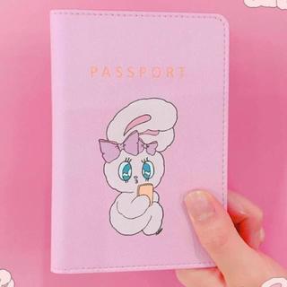 スタイルナンダ(STYLENANDA)のchuu×エスターキム パスポートケース (ライトピンク(旅行用品)