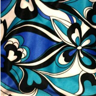 ★★★★交渉中★★★★プッチマーブル模様ブルー水色白カラフルハート花柄トップス(カットソー(半袖/袖なし))