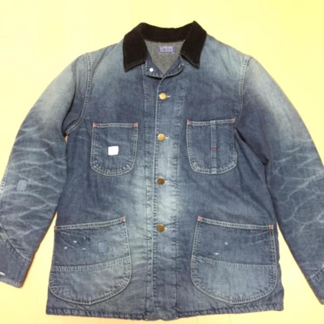 BLUE BLUE(ブルーブルー)のブルーブルー  カバーオール メンズのジャケット/アウター(Gジャン/デニムジャケット)の商品写真