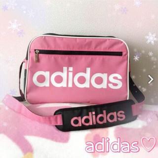 アディダス(adidas)のadidas アディダス✧*。可愛い*ショルダースポーツバッグ レディース(その他)