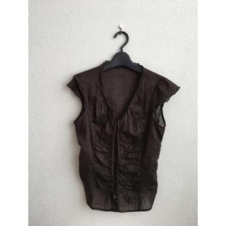 ヨンドシー(4℃)の【4°C】ブラウス(シャツ/ブラウス(半袖/袖なし))