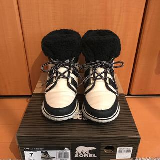 ソレル(SOREL)の美品 SOREL 箱付き コージーカーニバル 24.0(ブーツ)
